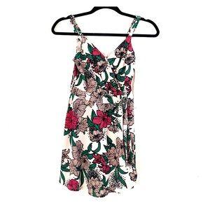 Candie's Floral Romper Dress XS